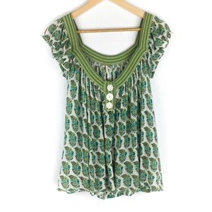 Free People Tie Back Top Size Medium